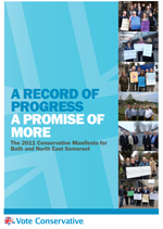 The 2011 Conservative Manifesto for Bath and North East Somerset